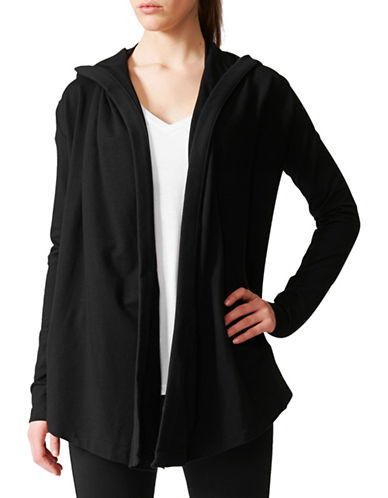 Adidas Wrap Me Up Cardigan-BLACK-X-Large