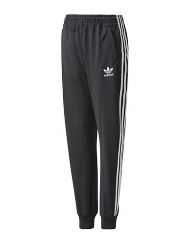 Adidas SST Track Pants-BLACK-Large