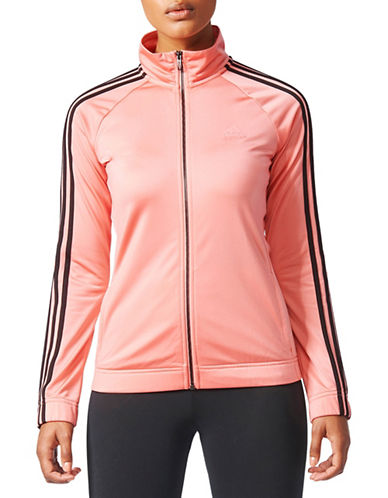 Adidas D2M Track Jacket-PINK-X-Large
