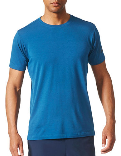 Adidas FreeLift Prime Tee-BLUE-Medium