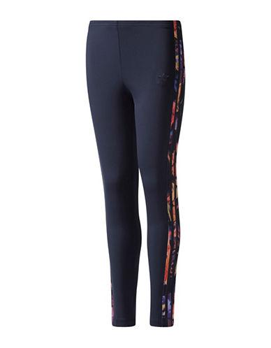 Adidas Printed Panel Athletic Leggings-MULTI-Small 89555963_MULTI_Small