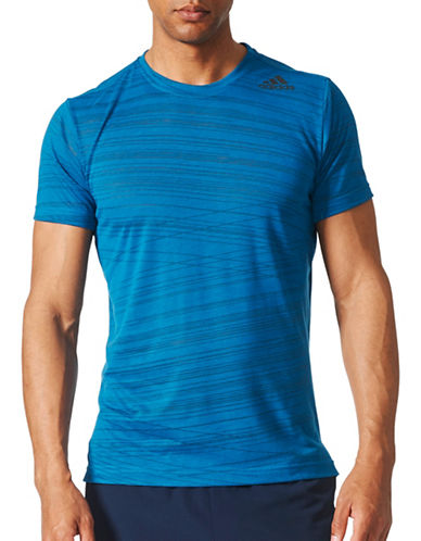 Adidas Freelift Climacool Aeroknit T-Shirt-BLUE-XX-Large 89565497_BLUE_XX-Large