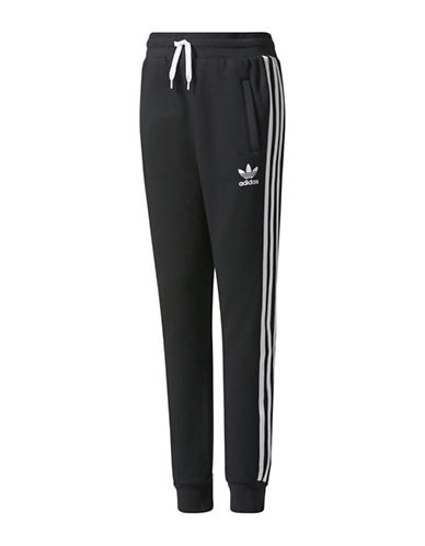 Adidas Trefoil Fleece Pants-BLACK-Large 89380889_BLACK_Large