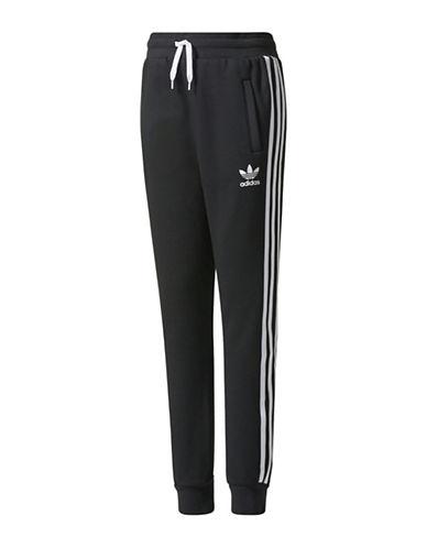 Adidas Trefoil Fleece Pants-BLACK-Medium 89380888_BLACK_Medium