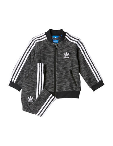 Adidas SST Track Suit-GREY-18 Months