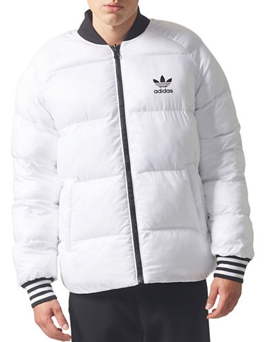 Adidas Originals SST Reversible Insulated Jacket-WHITE-Small