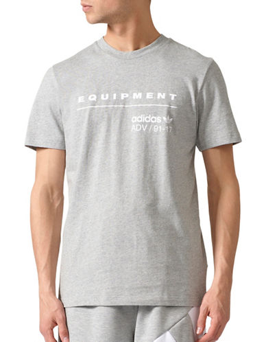 Adidas Equipment Classic Cotton Tee-GREY-Large
