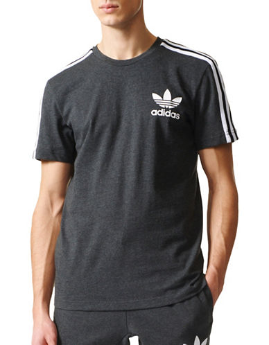 Adidas Originals Sporty Cotton Tee-BLACK-Medium