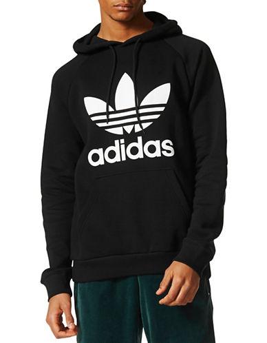 Adidas Originals Trefoil Logo Hoodie-BLACK-XX-Large