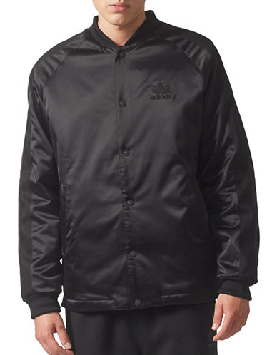 Adidas Originals Winter SST Track Jacket-BLACK-Large