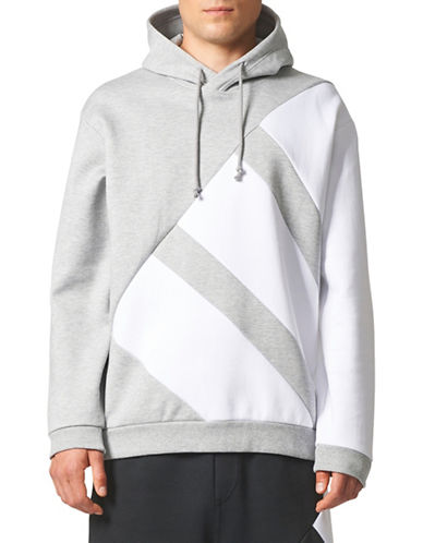 Adidas Originals Equipment Modern Hoodie-GREY-XX-Large