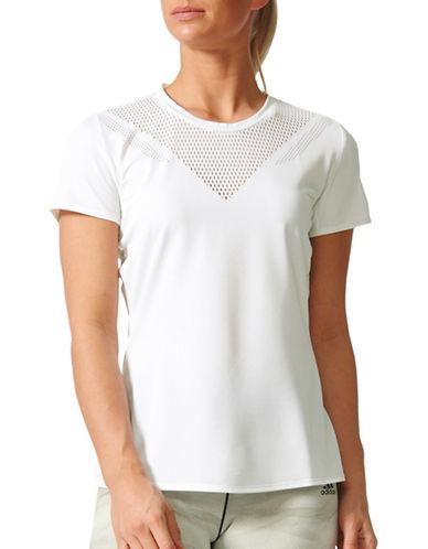 Adidas Feminine Tee-WHITE-Large 89383639_WHITE_Large