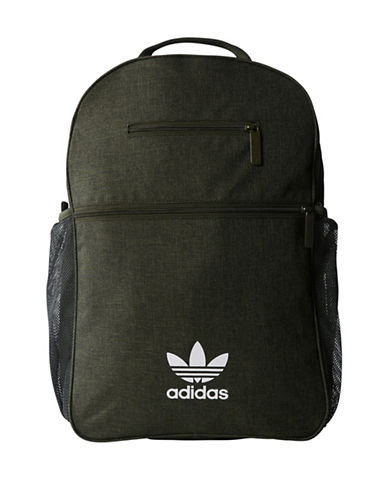Adidas ESS Casual Backpack-GREEN-One Size