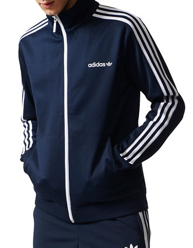 Adidas Beckenbauer Track Jacket-BLACK-Medium