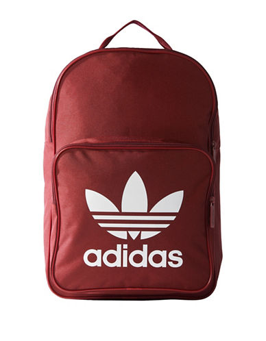 Adidas Classic Trefoil Backpack-RED-One Size