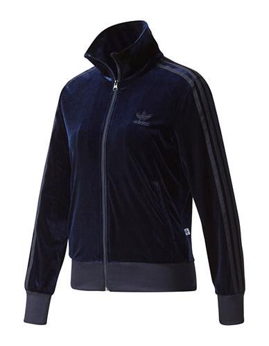 Adidas Legink Velvet Tracksuit Jacket-BLACK-Large 89699123_BLACK_Large