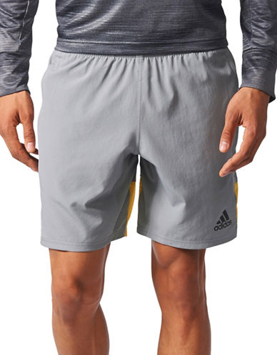 Adidas Speedbreaker Climacool Shorts-GREY-Large
