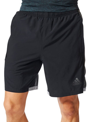 Adidas Speedbreaker Climacool Shorts-BLACK-Small