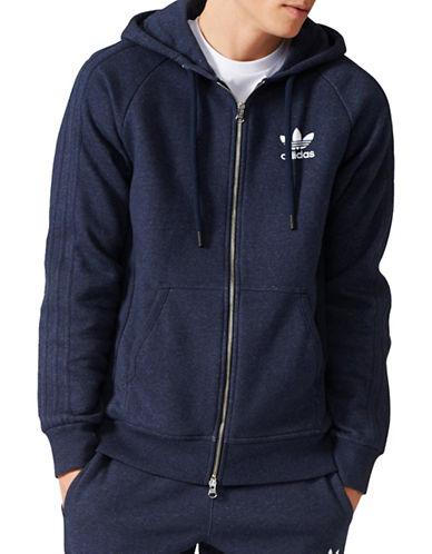 Adidas Essentials Fleece Hoodie-DARK NAVY-Medium 89599263_DARK NAVY_Medium