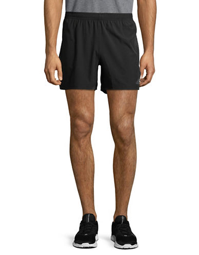 Adidas Elasticized Athletic Shorts-BLACK-Large