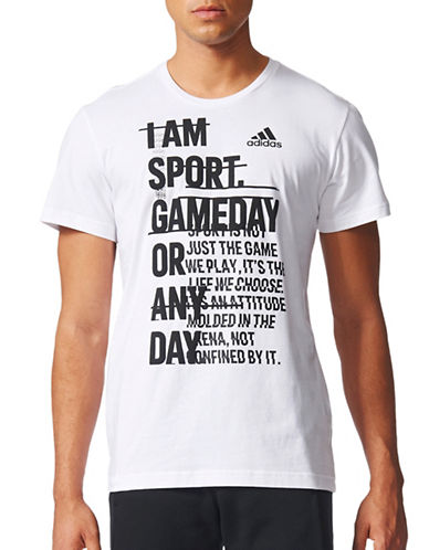 Adidas ID Athletics Mantra Cotton T-Shirt-WHITE-Small