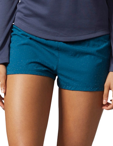 Adidas Glide Running Shorts-BLUE-Small