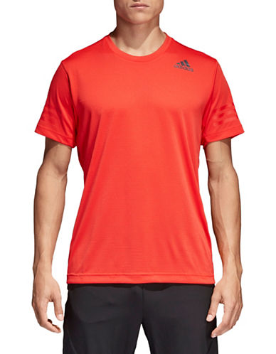 Adidas Freelift Climacool Tee-RED-Small