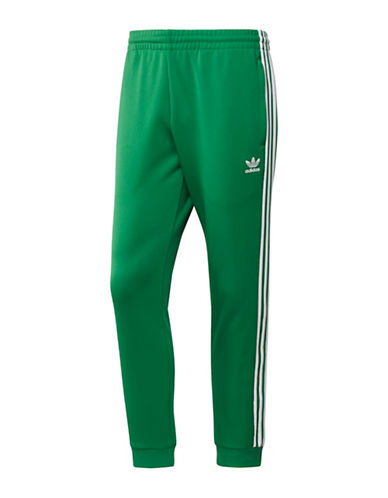 Adidas Originals SST Jogger Pants-GREEN-Medium