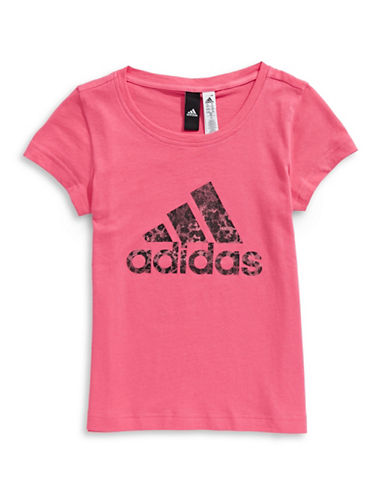 Adidas Logo Cotton Tee-ASSORTED-10-12