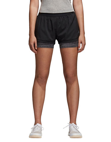 Adidas 2-in-1 Printed Training Shorts-BLACK-Medium 89798852_BLACK_Medium