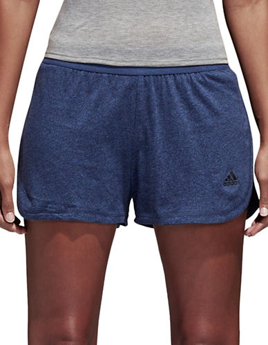 Adidas Vented Logo Shorts-BLUE-X-Small 89896020_BLUE_X-Small