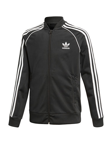 Adidas Classic Logo Jacket-BLACK-11-12