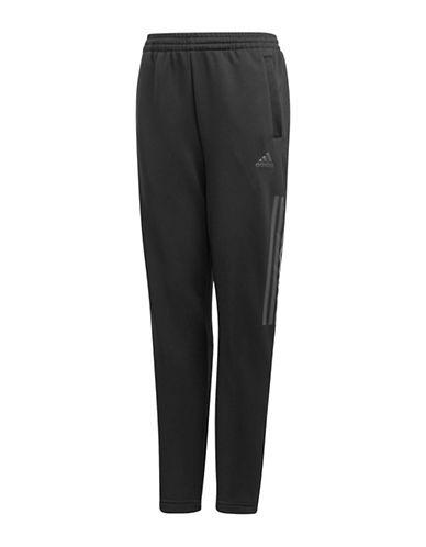Adidas Striped Stretch Pants-BLACK-9-10
