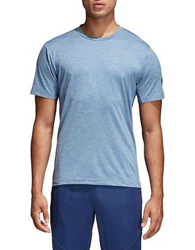 Adidas FreeLift Textured Tee-BLUE-Medium 90077290_BLUE_Medium