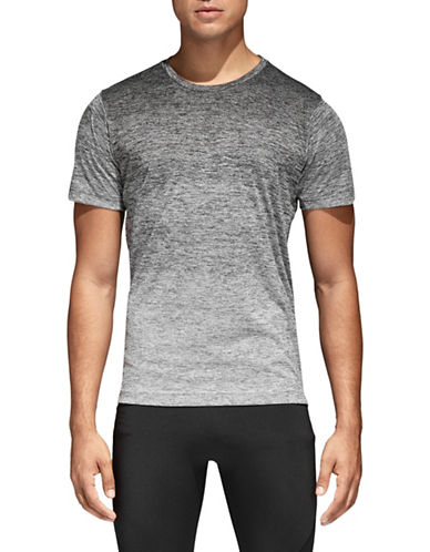 Adidas FreeLift Gradient Tee-BLACK/WHITE-Medium