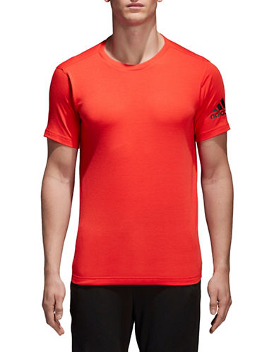 Adidas Free Lift Prime Tee-RED-XX-Large