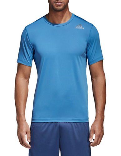 Adidas FreeLift Fitted Elite Tee-BLUE-Medium 89851593_BLUE_Medium