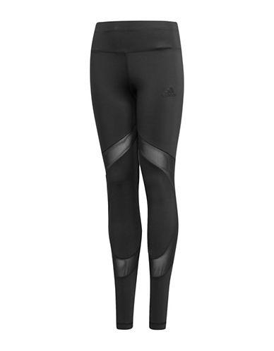 Adidas Ultimate Mesh-Paneled Tights-BLACK-7-8