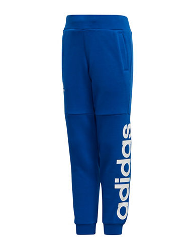 Adidas Graphic Logo Jogger Pants-ROYAL BLUE-5