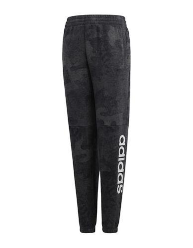 Adidas Camouflage Logo Pants-GREY-11-12