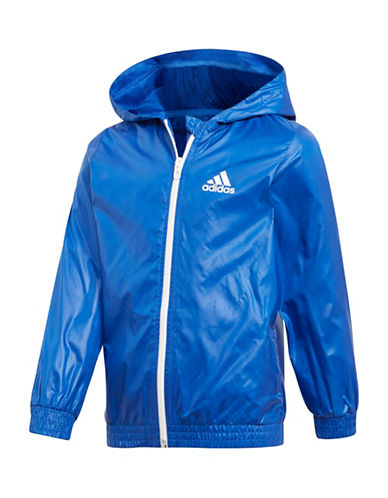 Adidas Windbreaker Jacket-ROYAL-2T