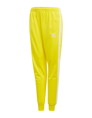 Adidas Performance Track Pants-YELLOW-11-12