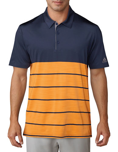 Adidas Golf Colourblock Short Sleeve Polo-BLUE-Small 89777304_BLUE_Small
