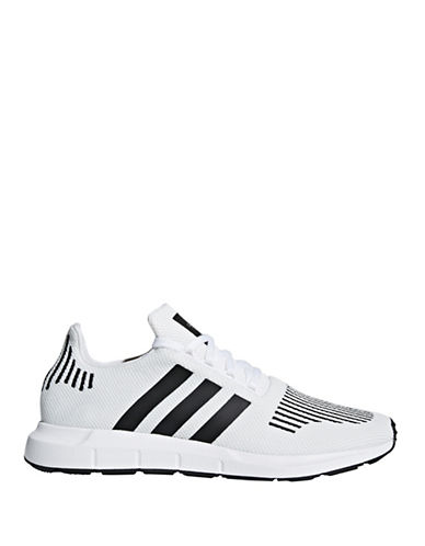 Adidas Originals Swift Run Sneakers-WHITE-10.5