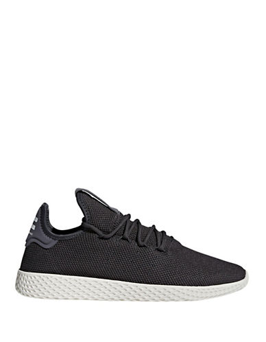 Adidas Originals Pharrell Williams Tennis Hu Shoes-CARBON-7