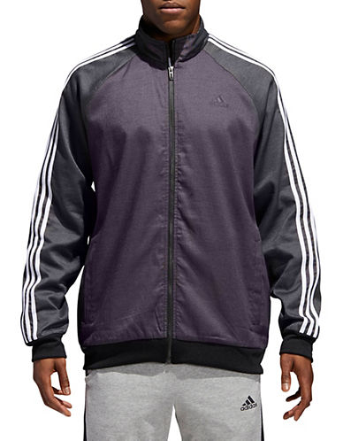 Adidas Woven Stripe-Down Jacket-BLACK-X-Large 90058112_BLACK_X-Large