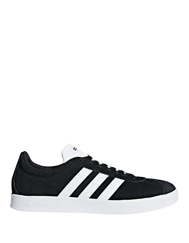Adidas VL Court 2-0 Sneakers-BLACK-9