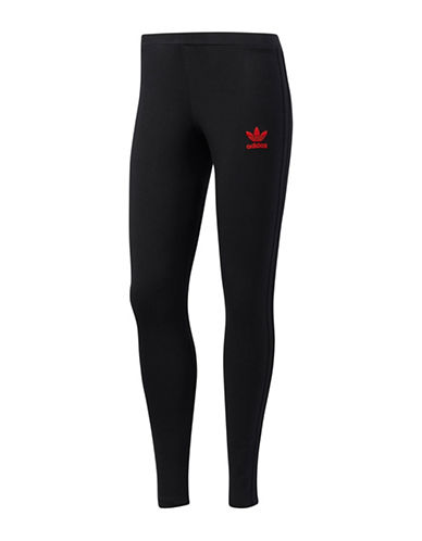 Adidas Stretch Cotton Leggings-BLACK-X-Large 89383683_BLACK_X-Large