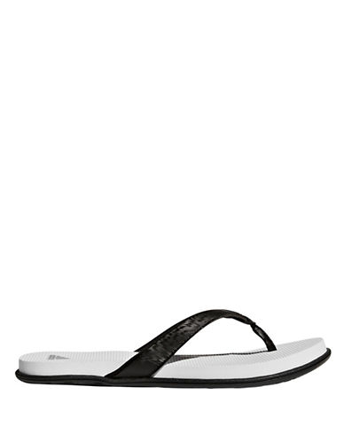 Adidas Cloudfoam One Thong Sandals-BLACK-10