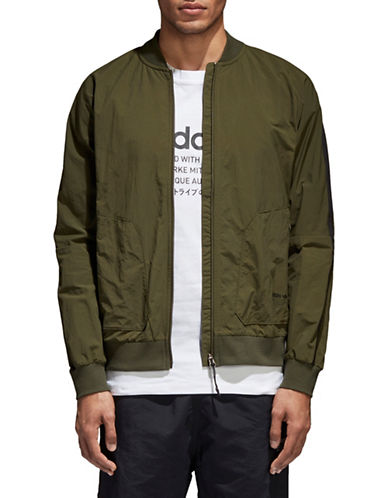 Adidas Originals NMD Track Jacket-GREEN-Large